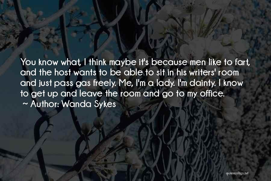 Dainty Quotes By Wanda Sykes