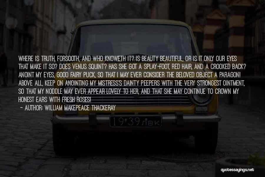 Dainty Quotes By William Makepeace Thackeray
