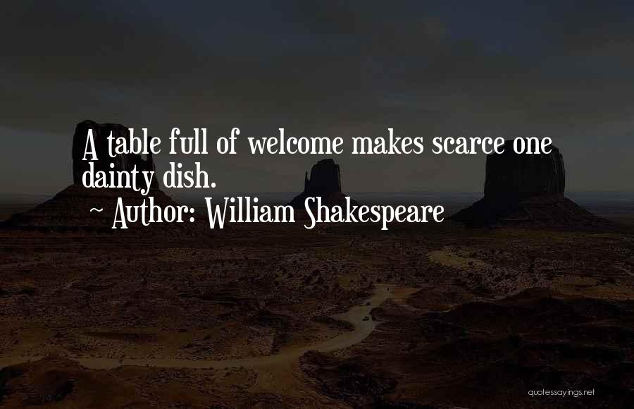 Dainty Quotes By William Shakespeare