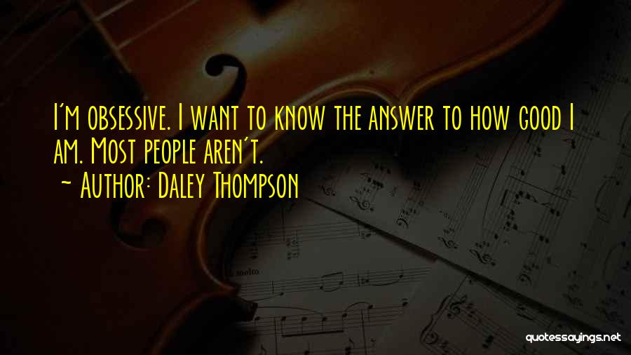 Daley Thompson Quotes 1089486