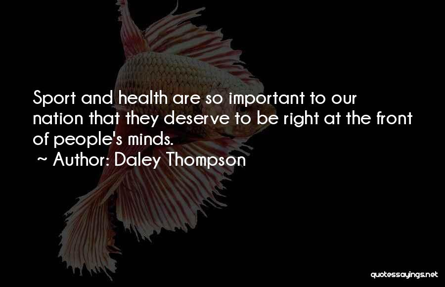 Daley Thompson Quotes 1384055