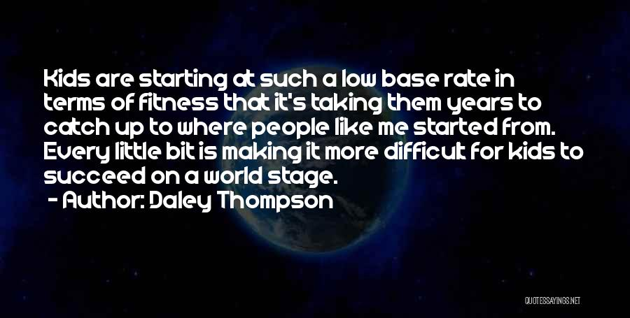 Daley Thompson Quotes 1434767