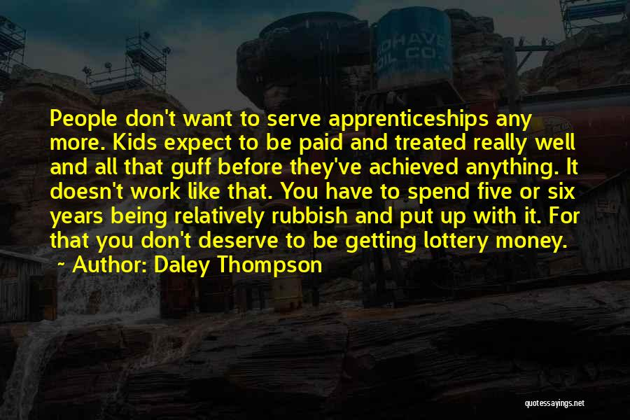 Daley Thompson Quotes 1457088