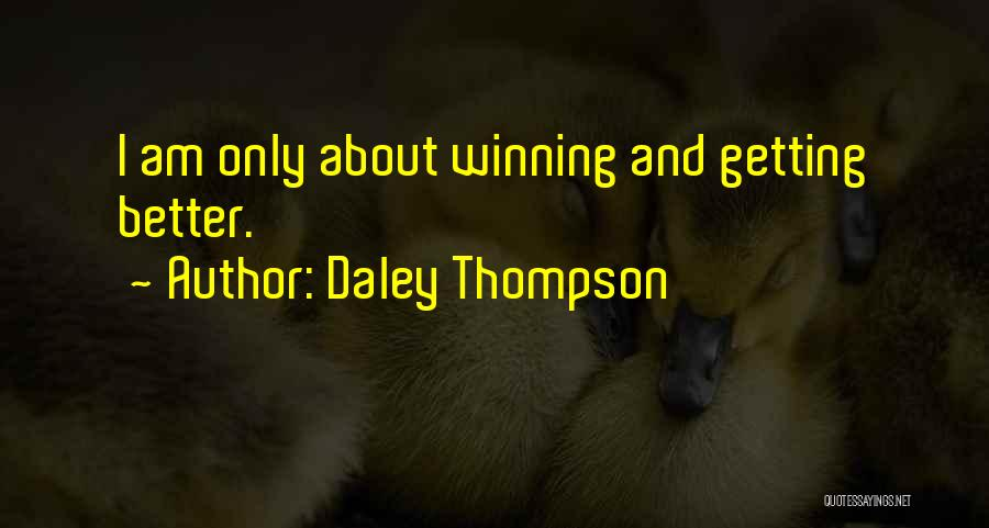 Daley Thompson Quotes 1642182
