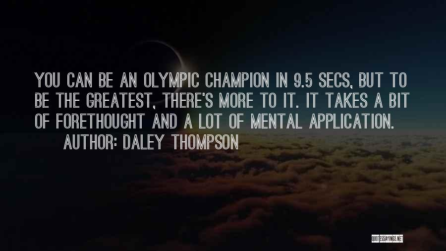Daley Thompson Quotes 1656349
