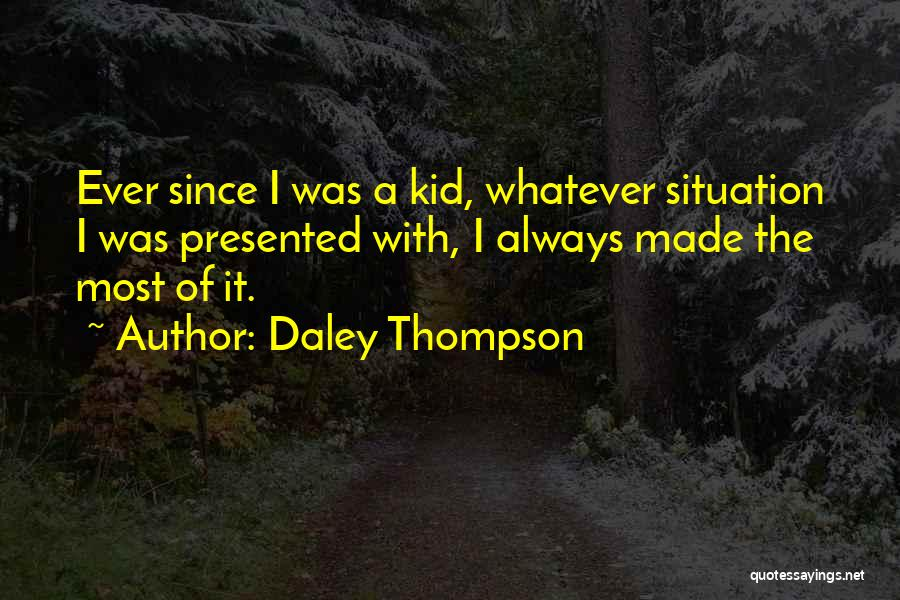 Daley Thompson Quotes 1836250