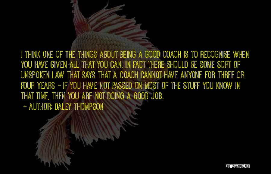 Daley Thompson Quotes 1865968