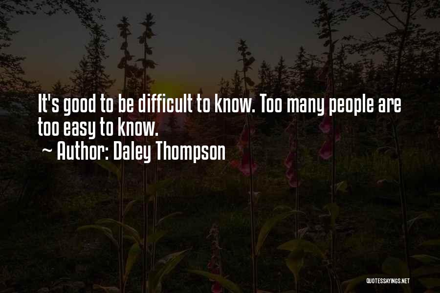 Daley Thompson Quotes 2158509