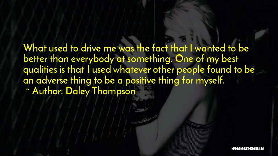 Daley Thompson Quotes 595622