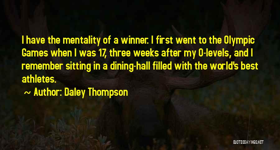Daley Thompson Quotes 792416