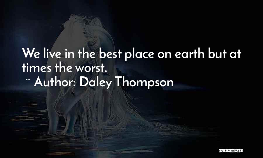 Daley Thompson Quotes 988415