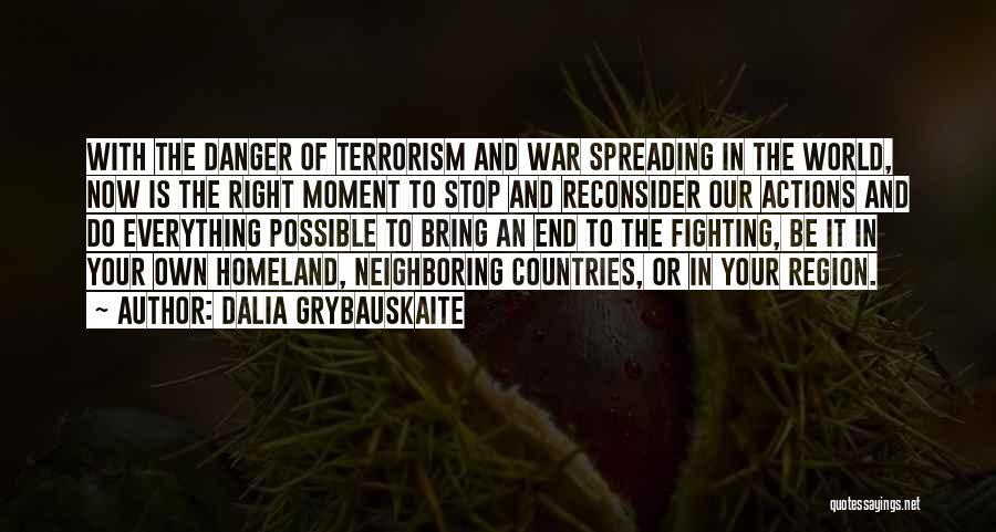 Dalia Grybauskaite Quotes 989955