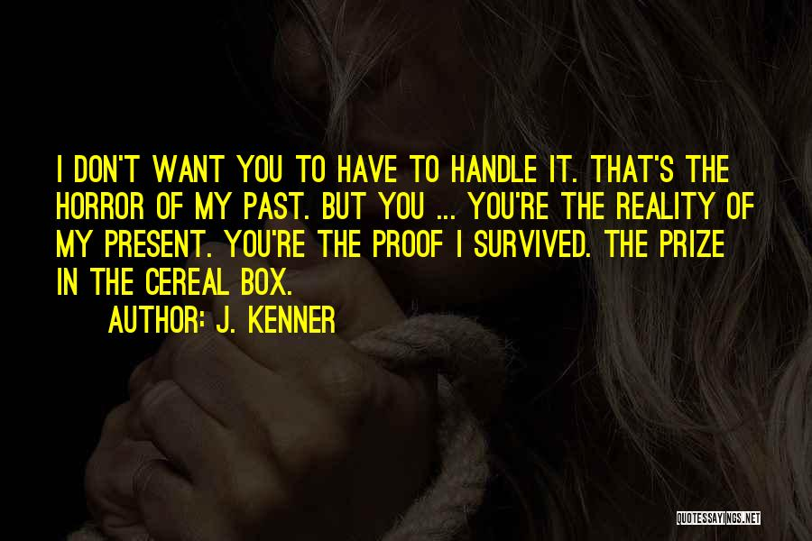 Damien Stark Quotes By J. Kenner