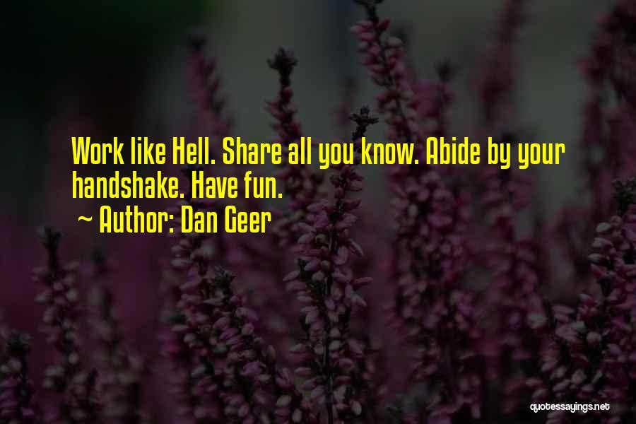 Dan Geer Quotes 1396538