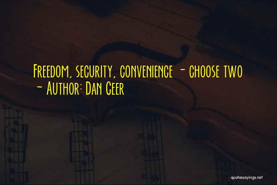 Dan Geer Quotes 1595596