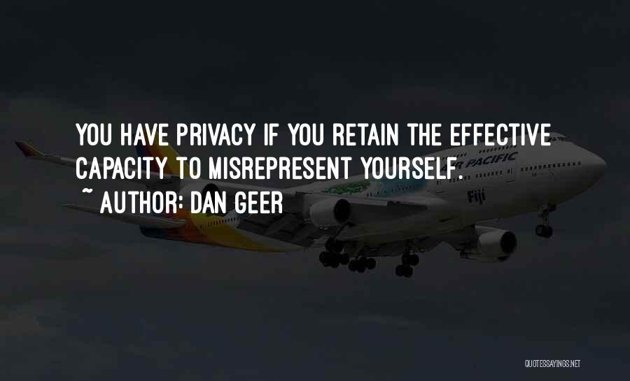 Dan Geer Quotes 162907