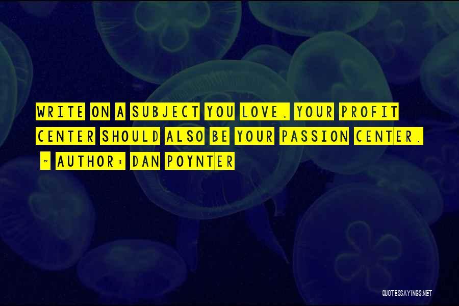 Dan Poynter Quotes 1521058