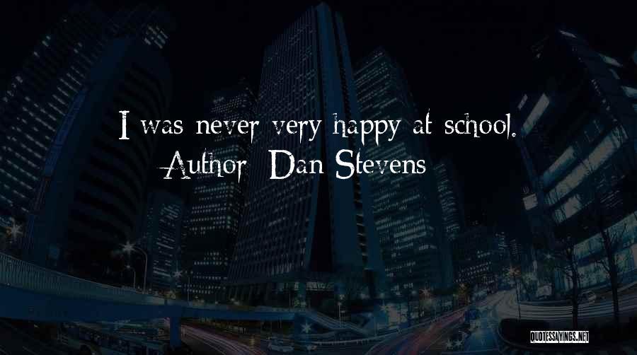 Dan Stevens Quotes 926188