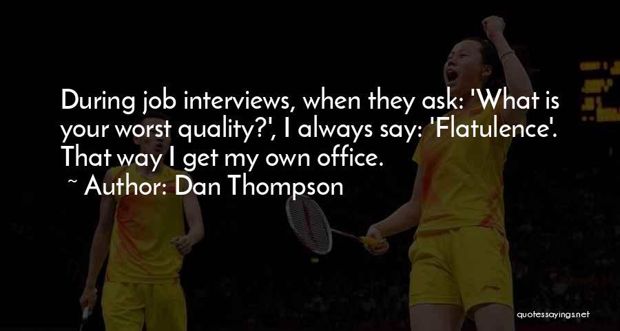 Dan Thompson Quotes 1771726