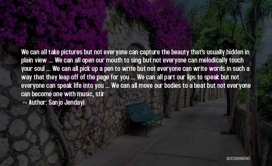 Dance Leap Quotes By Sanjo Jendayi