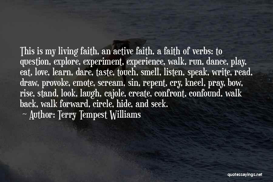 Dance N Love Quotes By Terry Tempest Williams