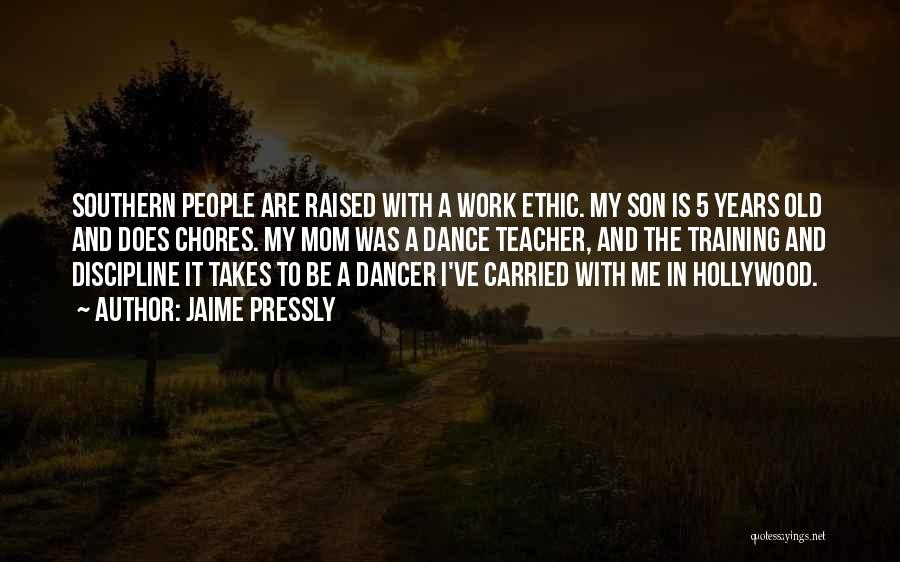 Dance Teacher Quotes By Jaime Pressly