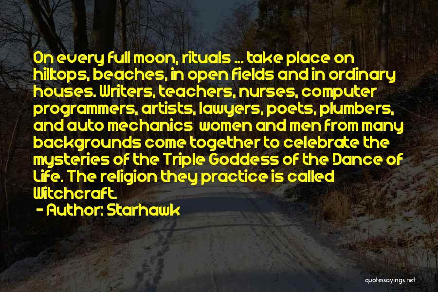 Dance Teacher Quotes By Starhawk