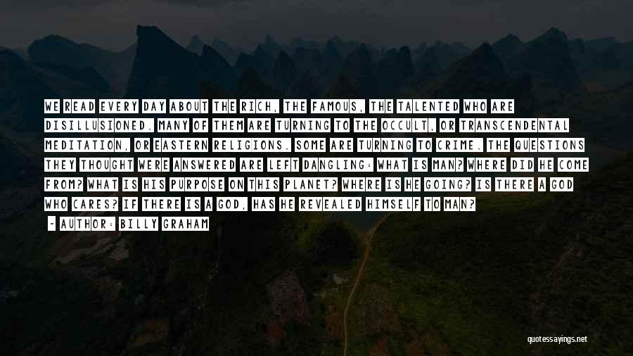 Dangling Man Quotes By Billy Graham