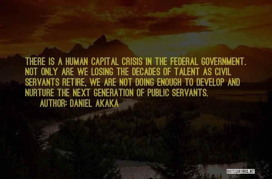 Daniel Akaka Quotes 1325265