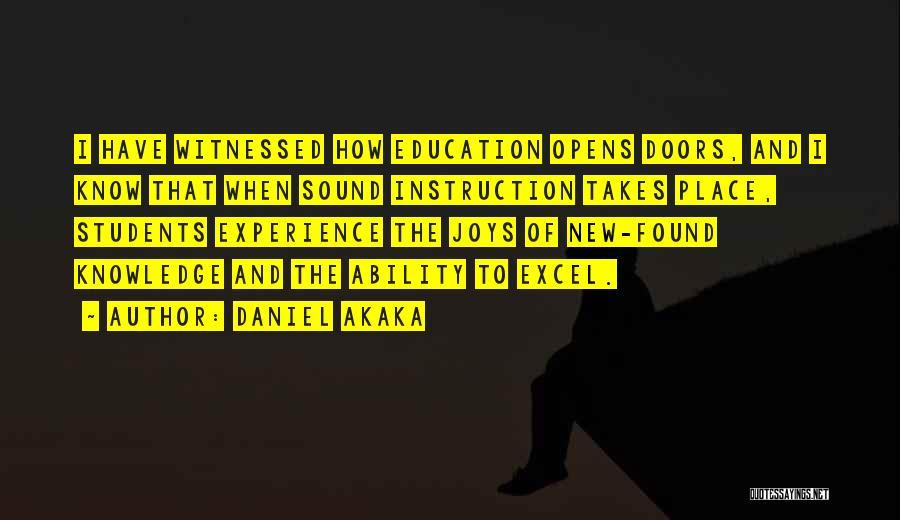 Daniel Akaka Quotes 916047