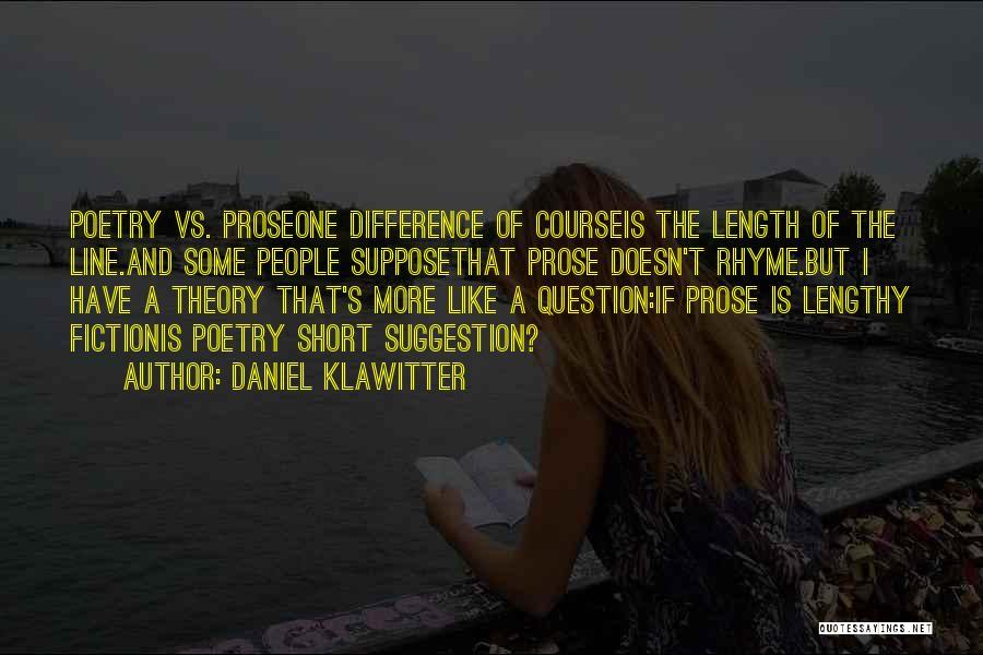 Daniel Klawitter Quotes 2269841