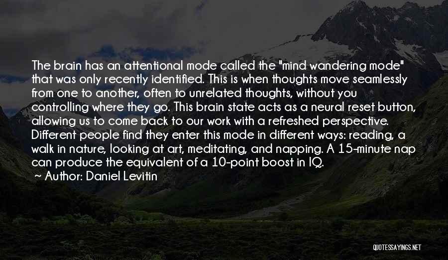 Daniel Levitin Quotes 144609