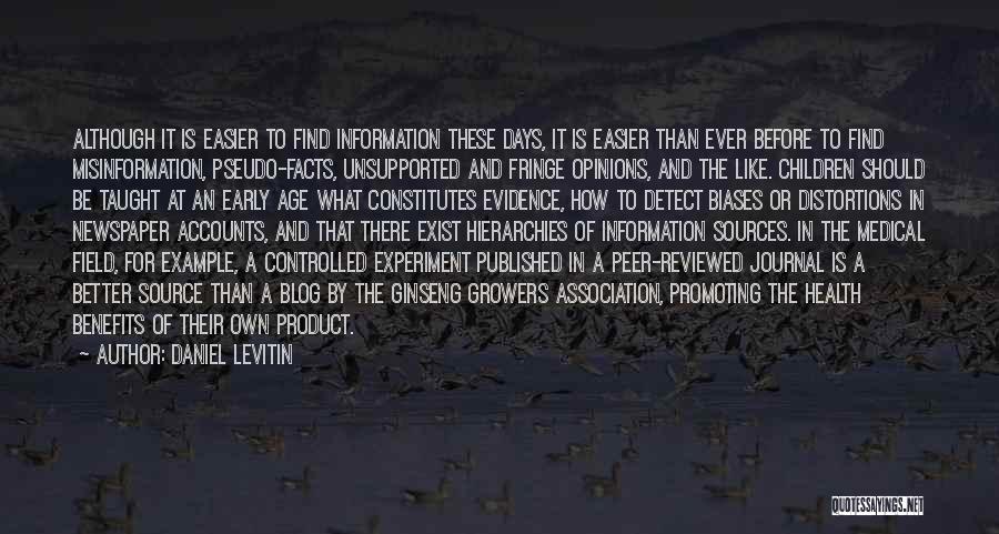Daniel Levitin Quotes 2133275