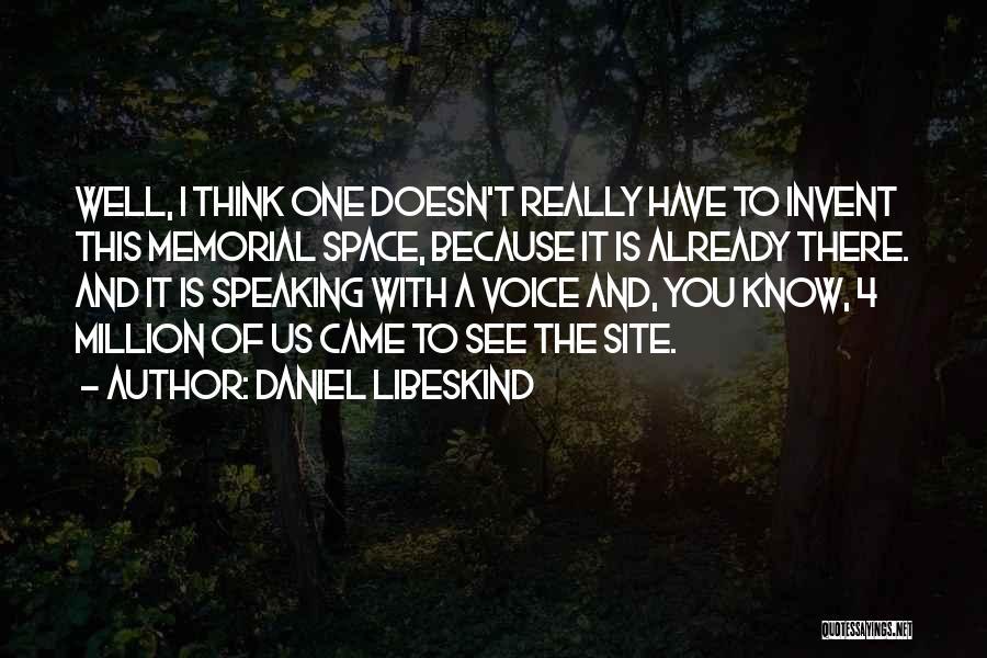 Daniel Libeskind Quotes 281129