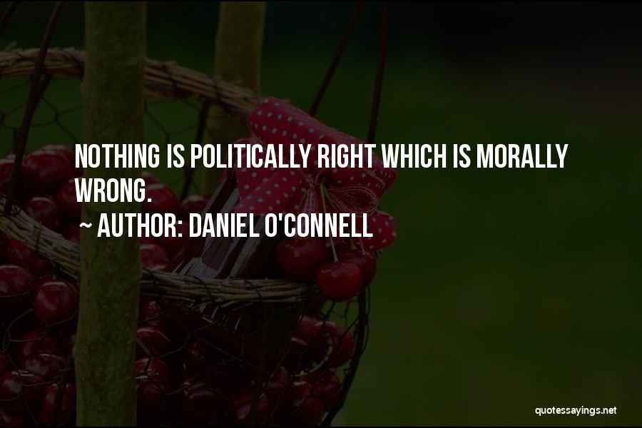 Daniel O'Connell Quotes 1335847