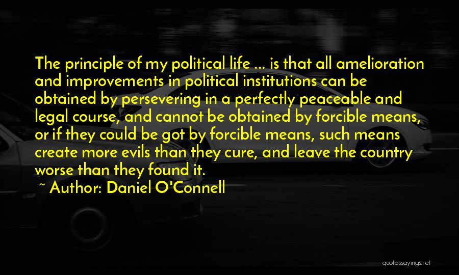 Daniel O'Connell Quotes 1856934