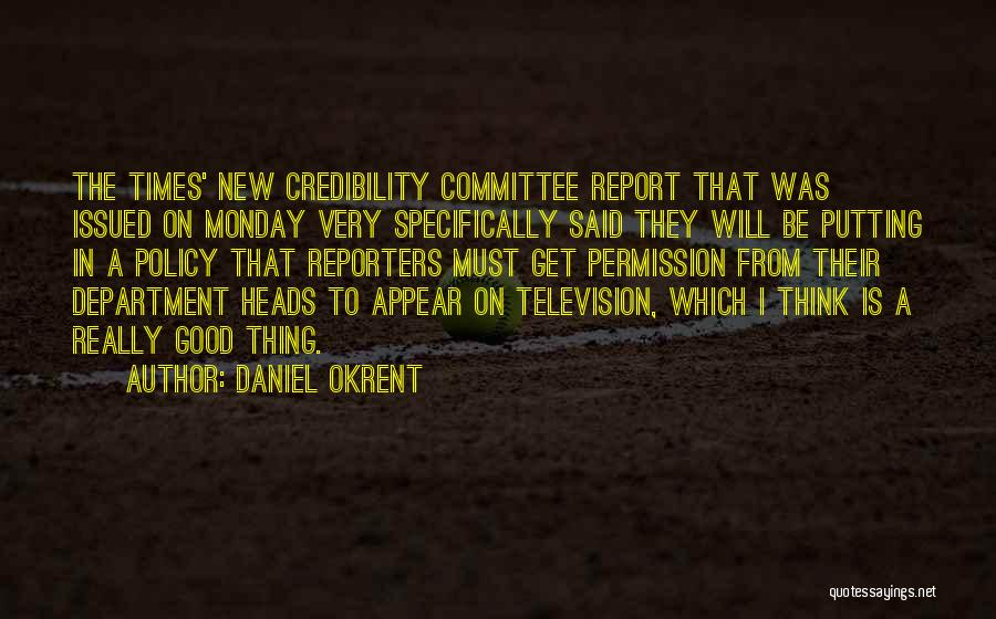 Daniel Okrent Quotes 1990306