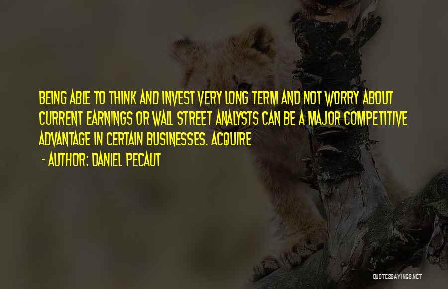 Daniel Pecaut Quotes 877198