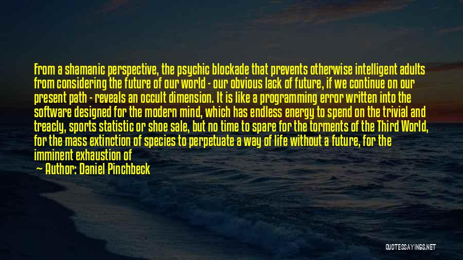 Daniel Pinchbeck Quotes 1814597