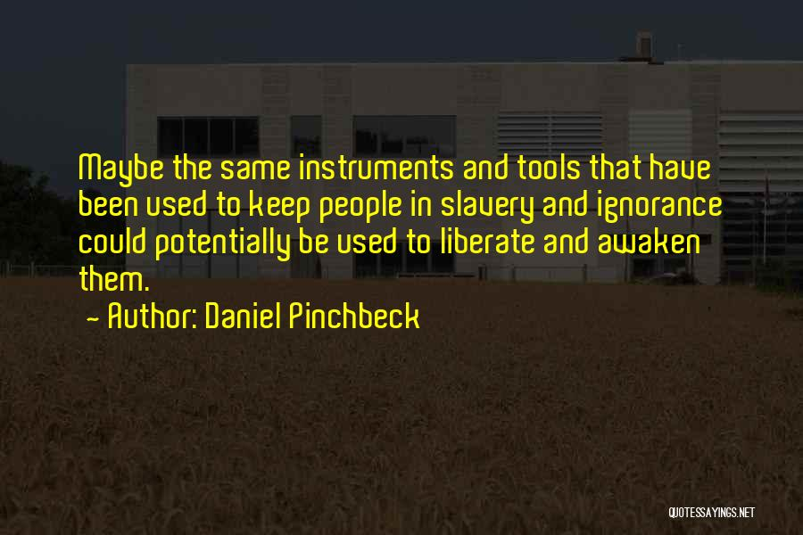 Daniel Pinchbeck Quotes 553205