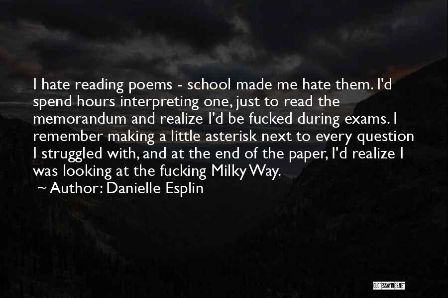 Danielle Esplin Quotes 374684