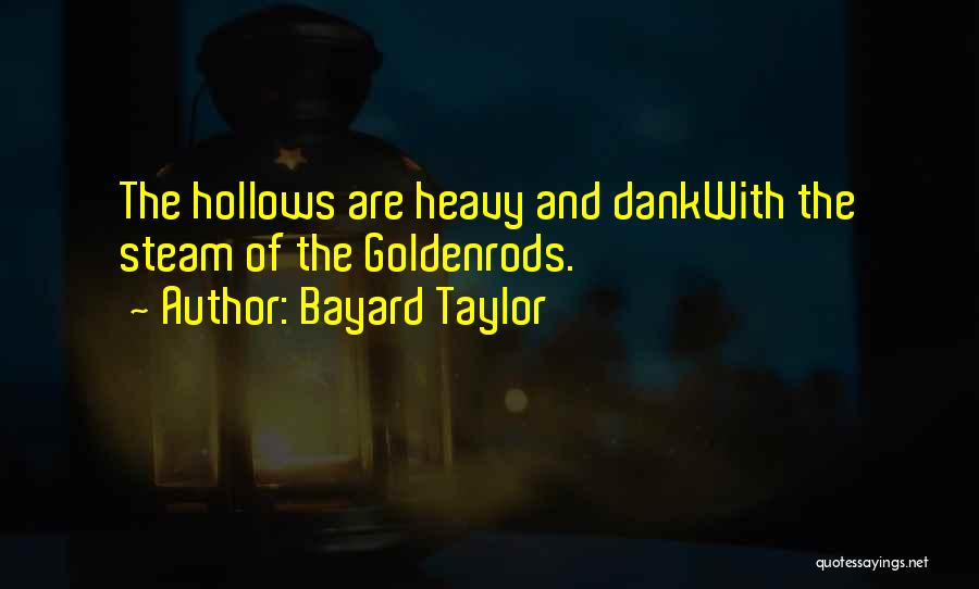 Dank Quotes By Bayard Taylor