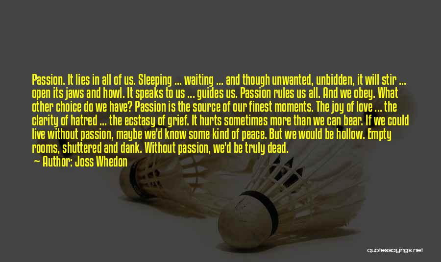 Dank Quotes By Joss Whedon