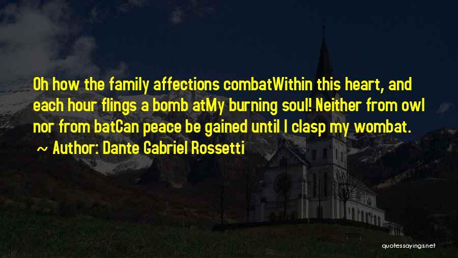 Dante Gabriel Rossetti Quotes 715082