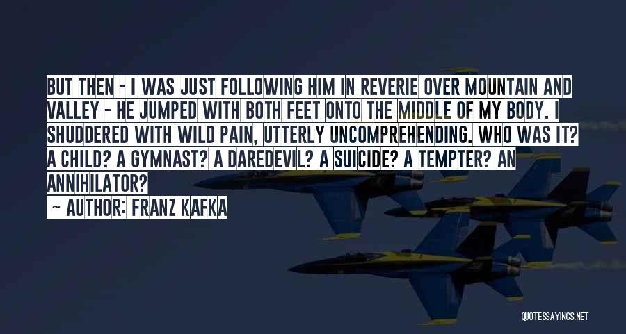 Daredevil Quotes By Franz Kafka