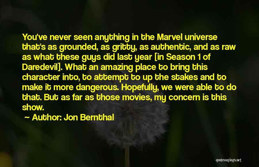Daredevil Quotes By Jon Bernthal