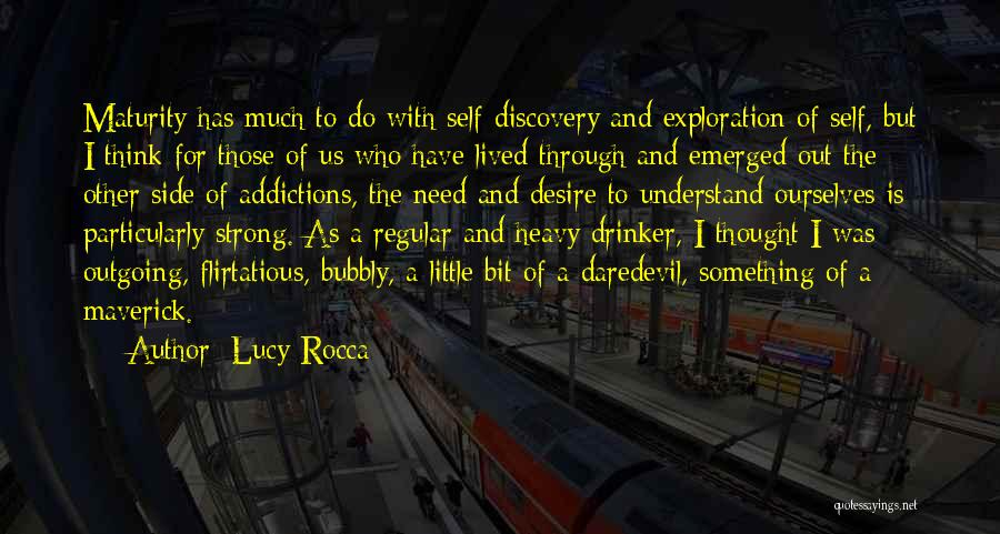 Daredevil Quotes By Lucy Rocca