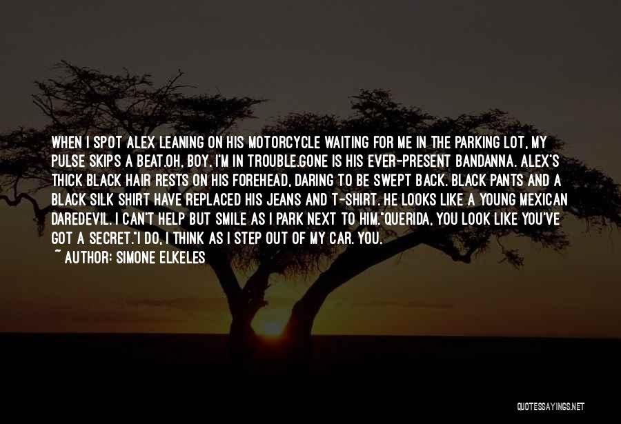 Daredevil Quotes By Simone Elkeles
