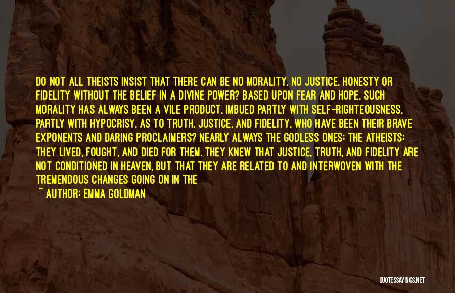 Daring Life Quotes By Emma Goldman