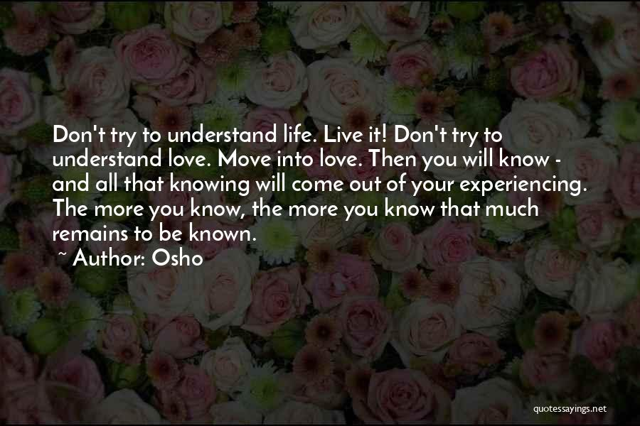 Daring Life Quotes By Osho